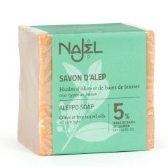 Najel 5% Bay Laurel Oil Aleppo Soap SAV75NJ-8