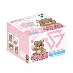 SAVEWO 3DBEAR 救世立體啤口罩 (30片/盒 ,獨立包裝) (6-24月嬰幼兒適用)
