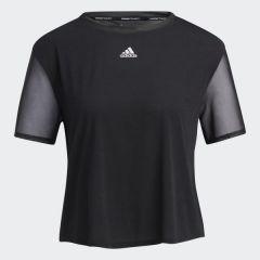 adidas Training Women 短袖上衣黑色