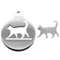 Therese Pet Accessories 貓行走款主人寵物套裝 (包15.5cm手鍊) SET010-SS-BCL