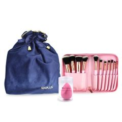 SIXPLUS Makeup Brush And Sponge Set SET1207