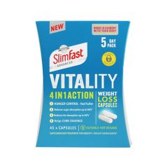 Slimfast Advanced Vitality Weight loss capsules 5 days 27.6g (BA) SF-AVWLC-WM-UNF5D