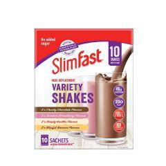 Slimfast Core Powder Sachet Assorted Box (10 sachets) SF-CP-MRT-UNF10SAT