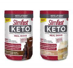 Slimfast 生酮低碳水代餐奶昔粉 (10份)