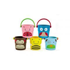 Skip Hop - Explore & More Zoo Stack & Pour Buckets SH235355
