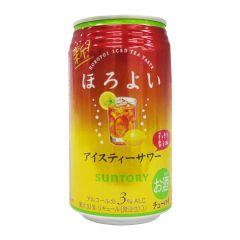 新得利 - 果汁酒涷檸茶味 3% 350毫升 (1支 / 6支 / 24支) (平行進口貨品) SHOCHU_SODA_ALL