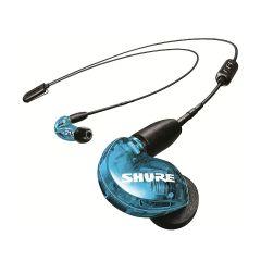 Shure Wireless 專業級無線監聽隔音耳機特別版 (RMCE-BT2 藍牙5.0版) SE215SPE (藍色)