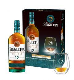 Singleton 12 年單一麥芽威士忌 70cl x 1支 (連 Norlan Glass 1隻)