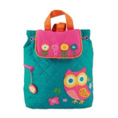 Stephen Joseph - Quilted Backpack Owl SJ100176A