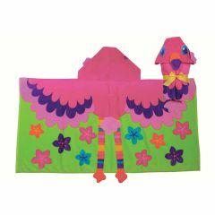 Stephen Joseph - Hooded Towel Flamingo SJ100450