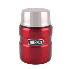 Thermos-470毫升控溫食物罐- 紅色