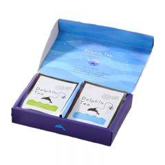 大翔 - 海豚茶包禮盒( 玉綠茶5包+紫羅蘭花茶5包) sl-056