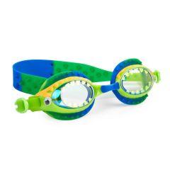 Bling2O - Swim Goggles - Gooey Gator - Ogre Green  SLI21014