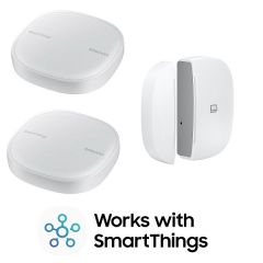 Samsung Smartthings WiFi Hub X 2 + 多功能門窗傳感器