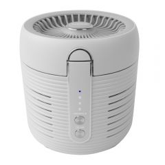 """Smartech """"Round Air"""" 2 in 1 UV HEPA Air Purifier and Circulation Fan SP-1878"""