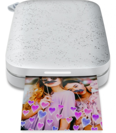 HP Sprocket 200 打印機捆綁式組合 (珍珠白)