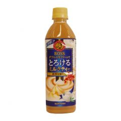 SUNTORY - BOSS MELTING MILK TEA 500ML (1 Bottle/ 6 Bottles / 24 Bottles) (Parallel Import) ST_BS_MMT_ALL