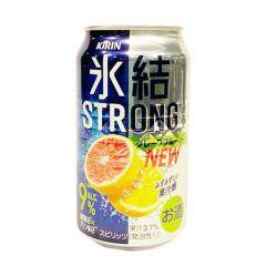 麒麟 - 冰結汽酒 葡萄柚味 9% 350毫升 (1支 / 6支 / 24支) (平行進口貨品) STRONG_GRAP_ALL