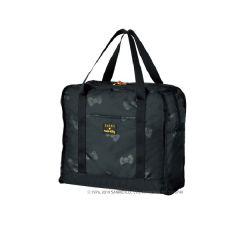 日本 SWANY x HELLO KITTY 可摺式輕巧手提袋 - RIBBON MOTIF (M) 黑色 SWT-36091