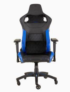 CORSAIR T1 RACE 人體工學高背電競椅 (黑/藍) (18P-BLK-BLU)