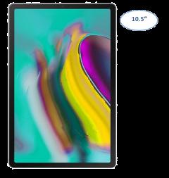 "Samsung Galaxy Tab S5e 10.5"" Wi-Fi 4GB / 64GB Tablet Sliver SM-T720NZSATGY"