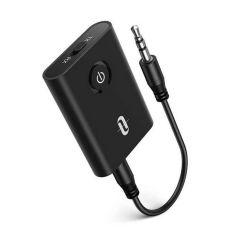 Taotronics - Bluetooth 5.0 Transmitter and Receiver 2-in-1 Wireless 3.5mm Adapter TT-BA07 (Black) TAOTR_UHTTBA07