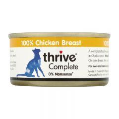 Thrive - 整全膳食雞胸肉 貓罐頭75g (原箱12罐) Thr-Chi75g-box