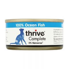 Thrive - 整全膳食白魚 貓罐頭75g (原箱12罐) Thr-OceanF75g-box