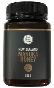 The Honey Store MGO 550+ Manuka Honey 500g THS-550-500GM