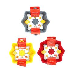 Tescoma - TOP SILICONE Cake Pan (Star-shaped) - 22 cm (Random Color) TOP_629274