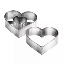Tescoma - DELICIA Heart-shaped Shortcake Cutters TOP_631190