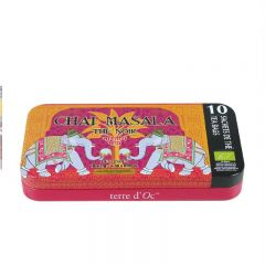 terre d'Oc - Organic Indian Black Chai Masala with spices 10 bags x 2g TTHS1001P