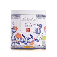 terre d'Oc - Organic Bai Mu Dan White tea with peach and apricot flavours 100g TTHS1006A