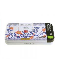 terre d'Oc - Organic Bai Mu Dan White tea with peach and apricot flavours 10 bags x 1.4g TTHS1006P