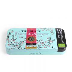 terre d'Oc - Organic Bai Mu Dan White tea with orange blossom flavour 10 bags x 1.4g TTHS1008P