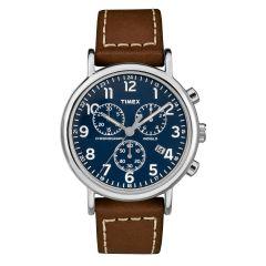Timex Weekender Chronograph Watch-Blue TW2R42600