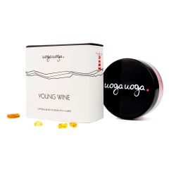 Uoga Uoga - 天然胭脂粉含琥珀 – 深桃色 4g (644)