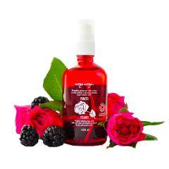 Uoga Uoga - 面部爽膚噴霧  - 玫瑰花水和黑莓提取物 100ml (134)