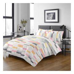 Uji Bedding - 1000針絲般綿活性印花床品套裝 [5201] (4款尺寸可選)