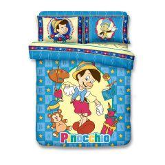 Uji Bedding - 1300針天絲綿活性印花卡通床品套裝 - 木偶奇遇記(5款尺寸可選)