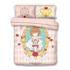 Uji Bedding - 1000 thread Cotton Reactive Print  Characters Bedding Set - Card Captor Sakura(4 Sizes option) UJI-SK2002-MO