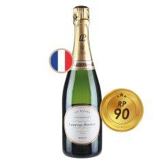 羅蘭香檳 ; WS 90 RP 90 Laurent_Brut