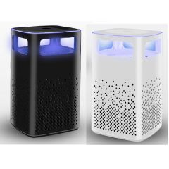 Goto - USB充電光催化滅蚊燈 - 黑色/白色