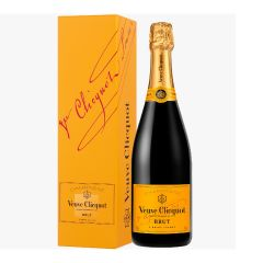 Veuve Clicquot - Brut Yellow Label Champagne 750ml x 1 btl (with giftbox) (RP90 & WS91) VCP_YL_1GB