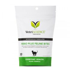 VetriScience 貓用雙重潔齒小食60粒 VetriS-PERIO