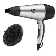 Vidal Sassoon - 2200W Tourmaline Ceramic Ion Hair (VS5543SH / VS5543PIH) (Silver / Black & Pink) VS5543_All