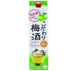 W00547 NAKANO中埜酒造 - Umeshu Pack 2L 8%