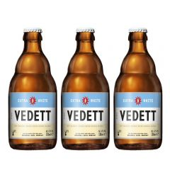 W00564_3 Vedett - Extra White Beer 330ml X3