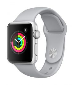 Apple Watch Series 3 GPS, 38mm Aluminum Case with Sport Band