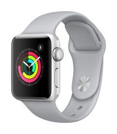 Apple Watch Series 3 GPS 38mm 鋁金屬錶殼配運動錶帶